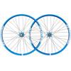 "Spank Spoon32 EVO wiel 27,5"" VR: 20/110 mm, HR: 12/150 mm blauw"
